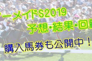 マーメイドステークス2019 単勝・複勝予想・結果・回顧 【馬券公開】